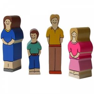 Holzfamilie Europa