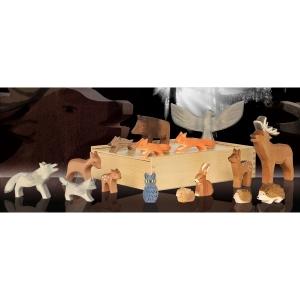 Tiere aus Wald und Flur (16 Figuren)