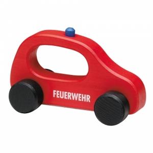 Feuerwehrauto- Holzauto